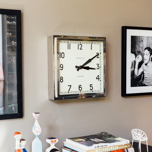 Newgate world, quad clock chrome