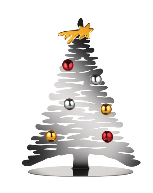 Alessi Bark Christmas Tree Large Stainless Steel
