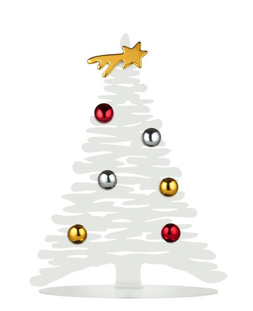 Bark Small Christmas Tree White