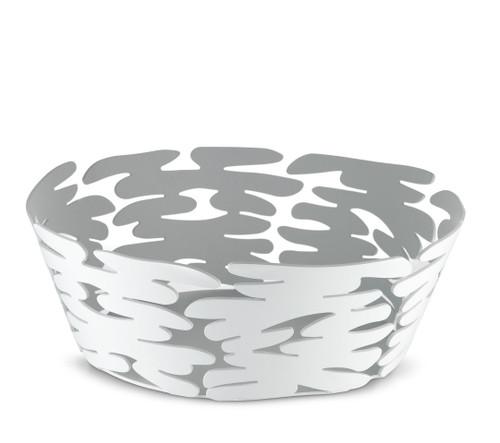 Barket 18cm Basket White