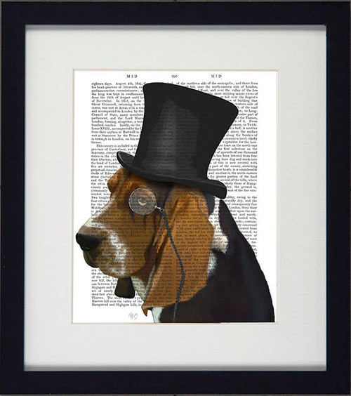 Formal Dogs Basset Hound Picture