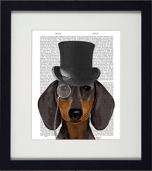 Formal Dogs Daschund Picture
