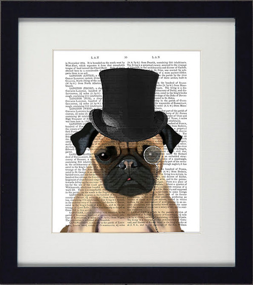 Formal Dogs Pug Picture