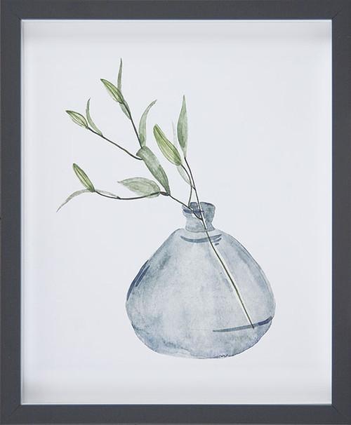 Misty Grey Vase I Picture