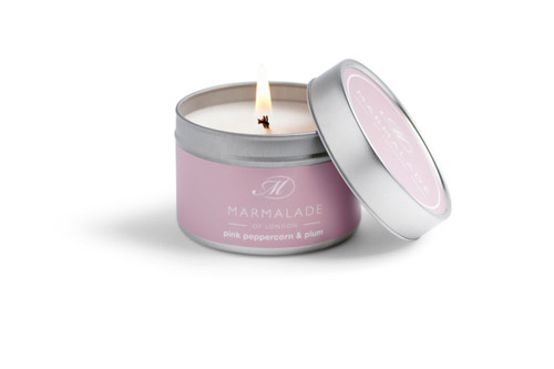Pink Pepper & Plum Candle Small Tin