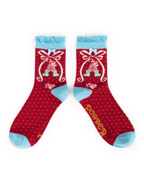 Ladies A Ankle Socks