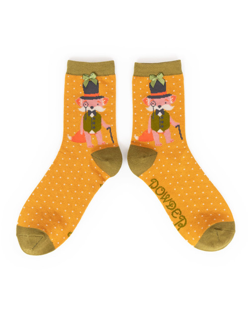 Ladies Gentleman Fox Socks