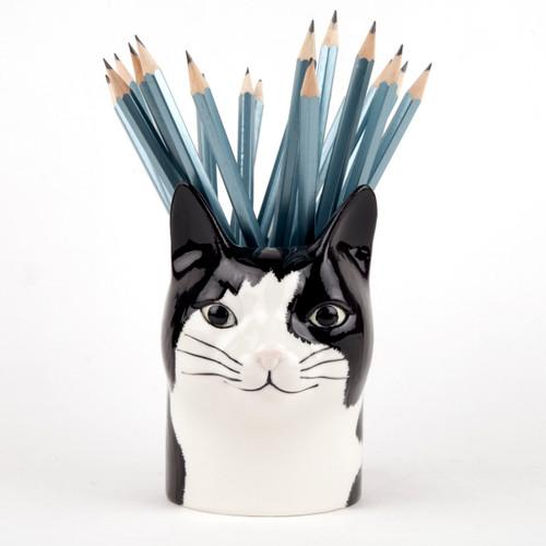 Barney Cat Pencil Pot