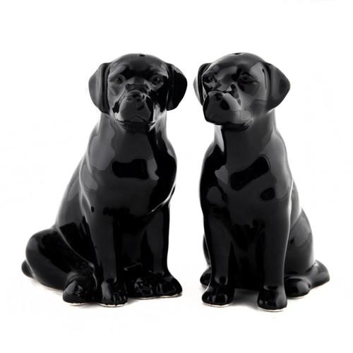 Black Labrador Salt and Pepper