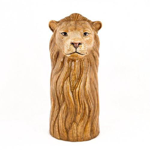 Lion Flower Vase