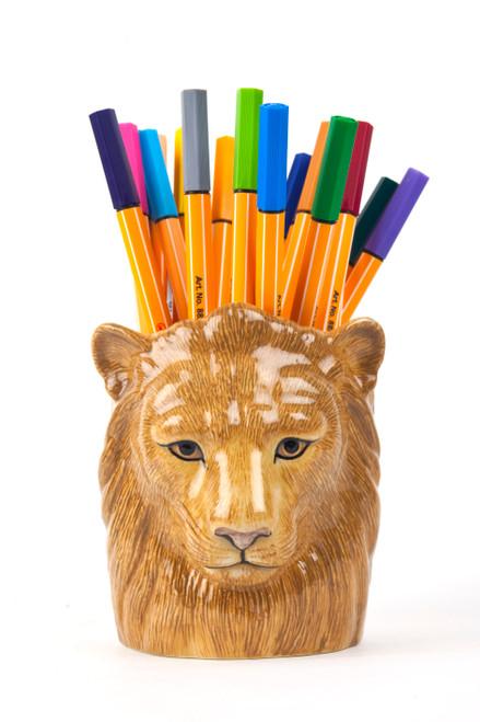 Lion Pencil Pot