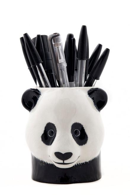 Quail Ceramics Panda Pencil Pot