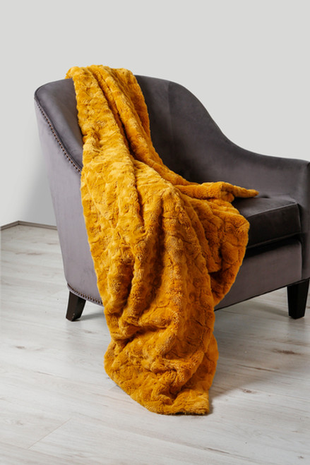 Hepburn Ochre Throw 130 x 180cm