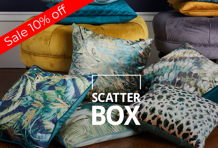 Scatter Box Cushions and Soft Furnishings