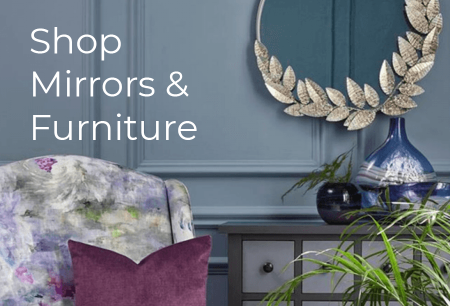 Discover our mirrors & furniture selection. Shop online and enjoy free delivery over £75 to the UK and free local delivery.