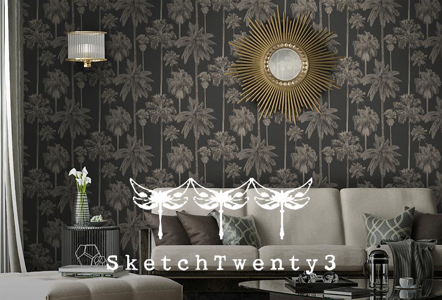 Shop SketchTwenty3 Wallpaper