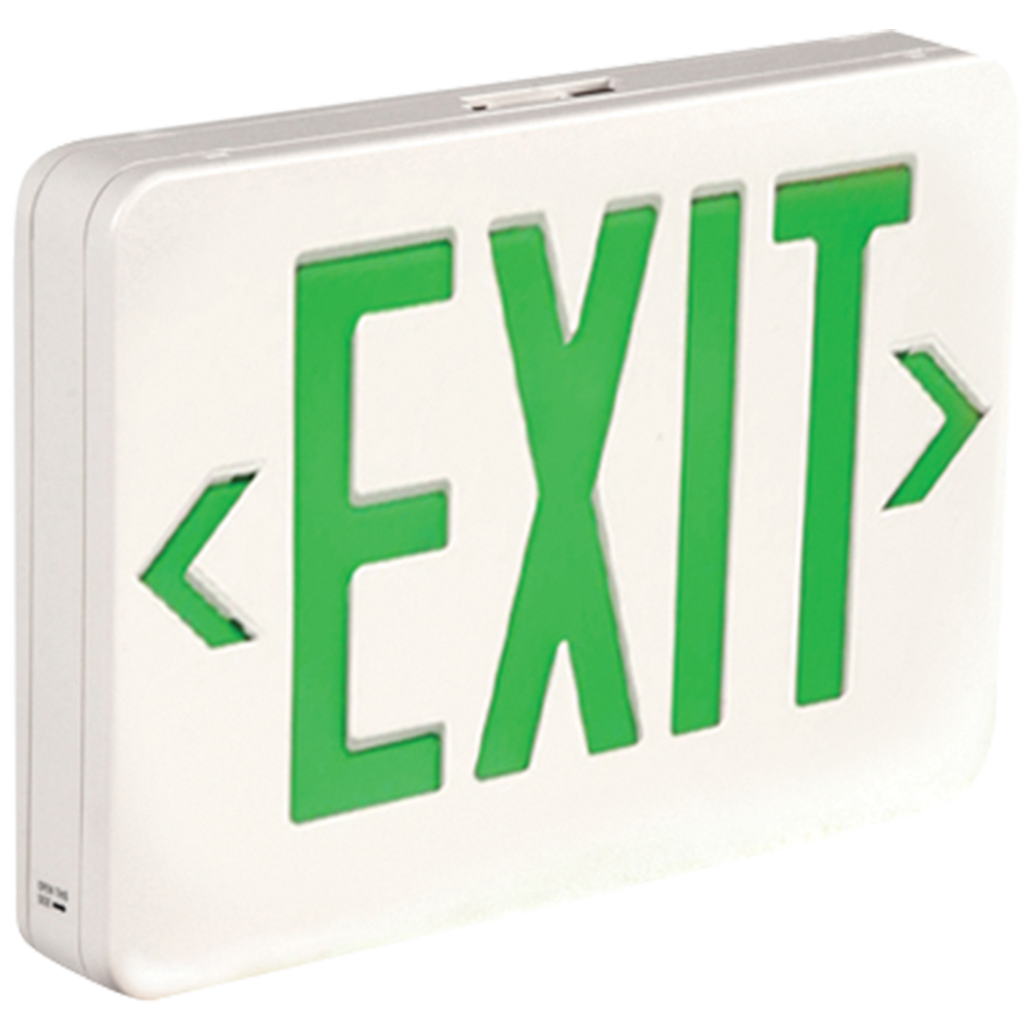 LED Exit Sign - Green