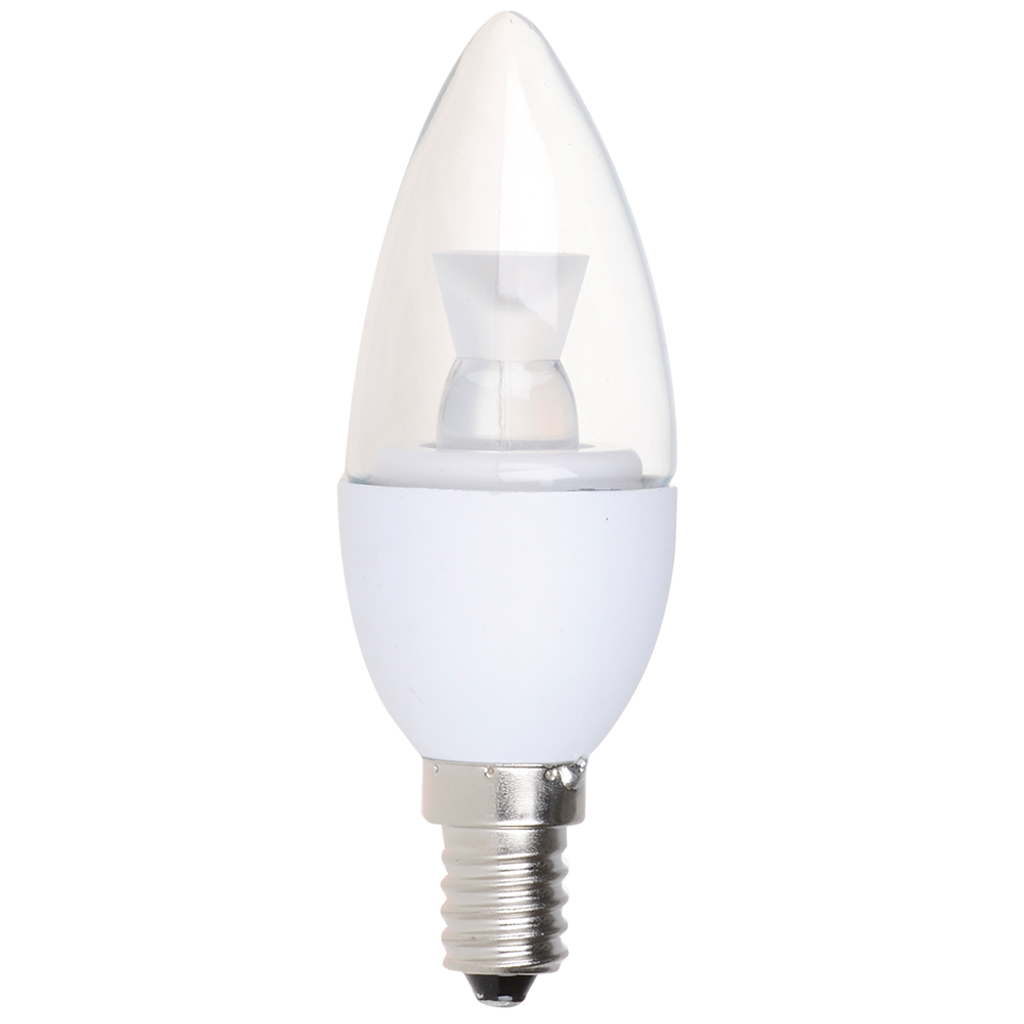 6-Pack Dimmable Candelabra LED, 5W (40W equiv), 2700K