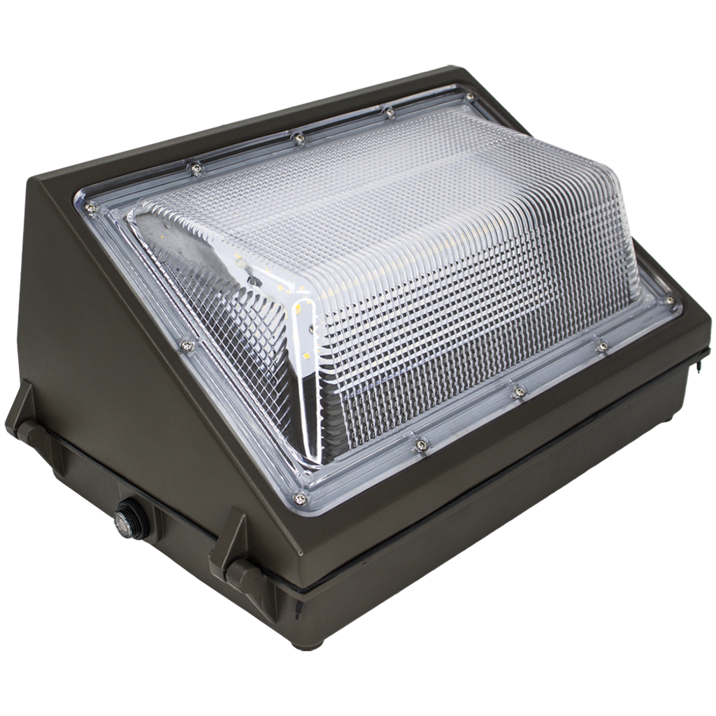 Wall Pack with Photocell, 50W, 5000K