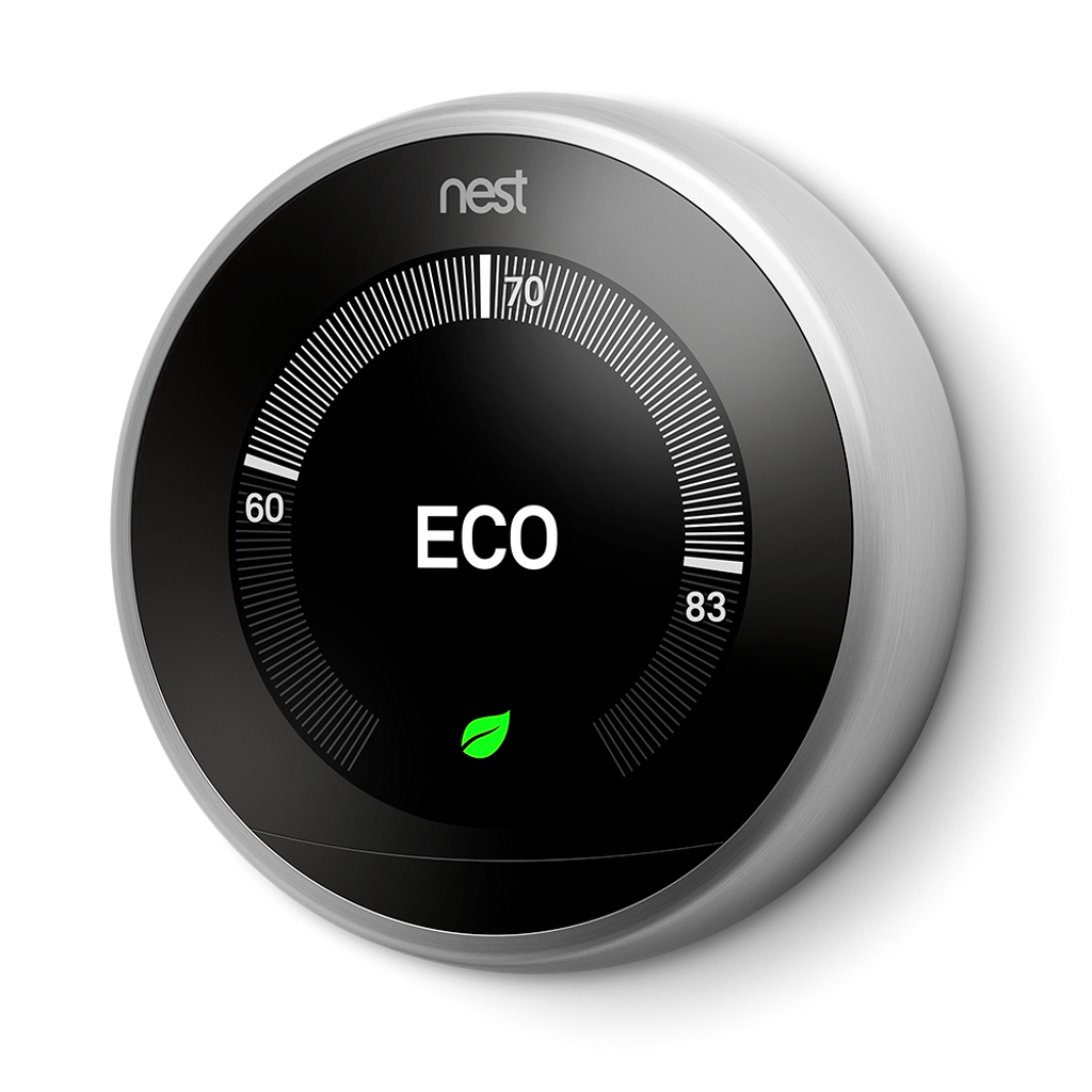Nest Learning Thermostat® - Stainless Steel