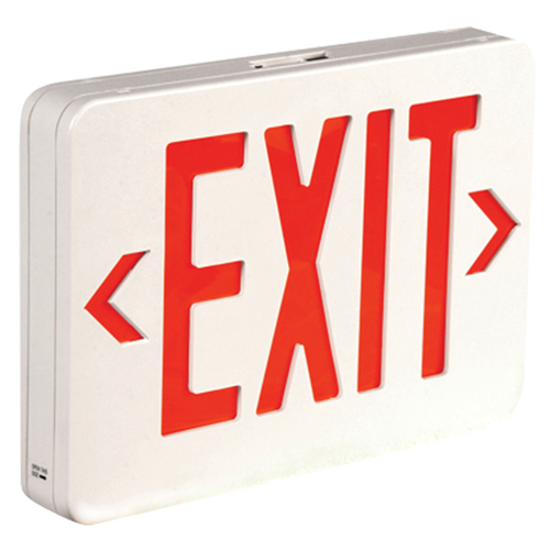 LED Exit Sign - Red