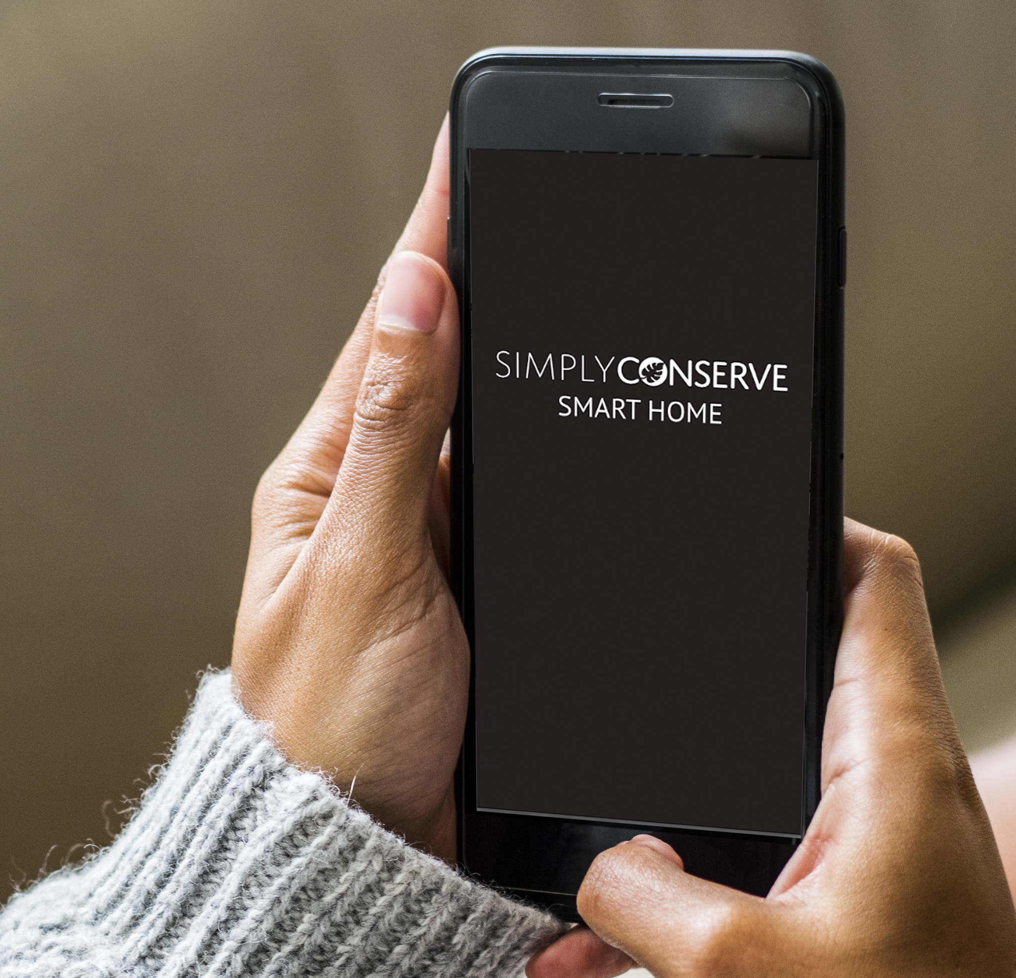 Simply Conserve app on phone