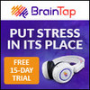 Brain Tap Guided Meditation Headset - Bluetooth