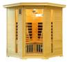 VItal Sauna Premier Corner Unit in Hemlock
