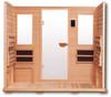 Clearlight 5  Person Sauna Premier Cedar