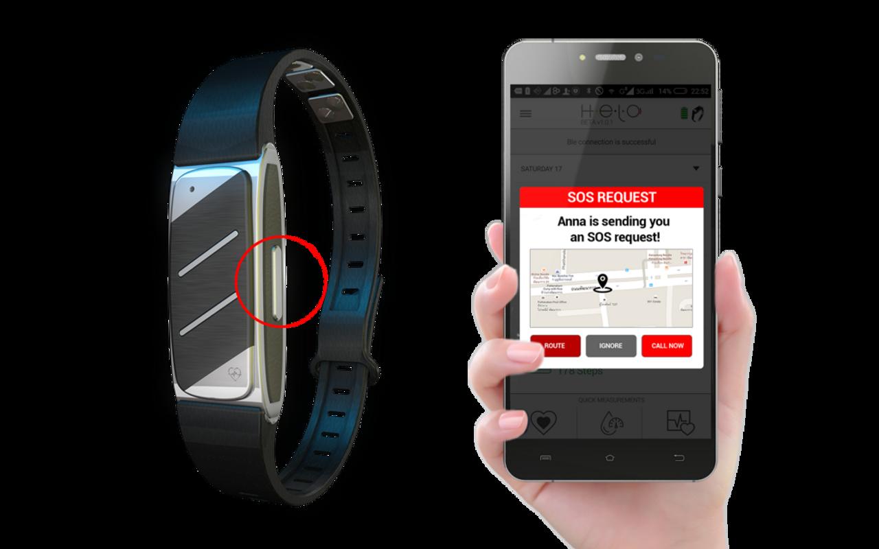 Helo Fitness Tracker