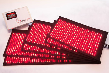 Ideal Light System 6 Pad with Facial System - Red Light Therapy