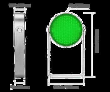 Illuminate Green Light LED Disk