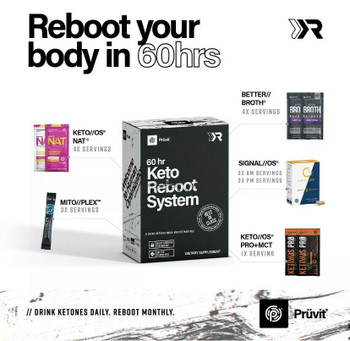 60 Hour Reboot Pruvit Kit