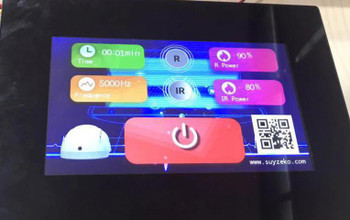 Regeneration Red & Blue Light LED Bed 360