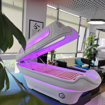 Summer Body Infrared Led Light Sauna Pod with Window