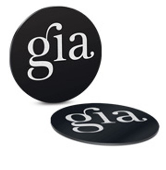 Gia Cell Chip Flat 4 Pack Silver