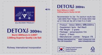 Detoxi Bamboo Salt