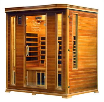 Vital Sauna Elite 4 Person Full Spectrum 240V
