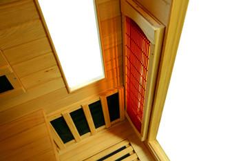 Vital Sauna Premier Corner Full Spectrum 240V