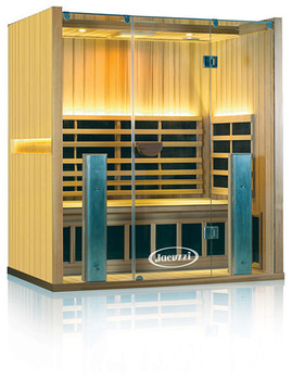 Clearlight Sanctuary 3 Person  Sauna Basswood