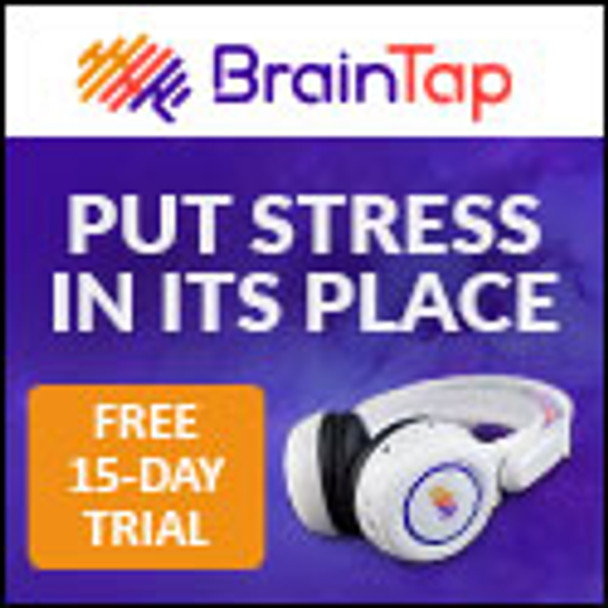 Brain Tap Guided Meditation Headset
