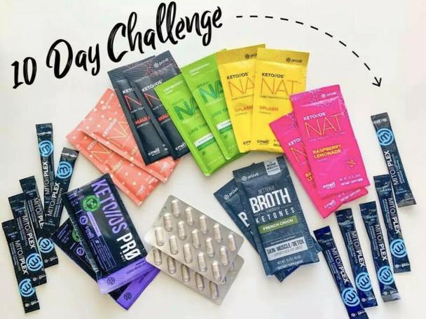 10 Day Pruvit Challenge Variety Pack