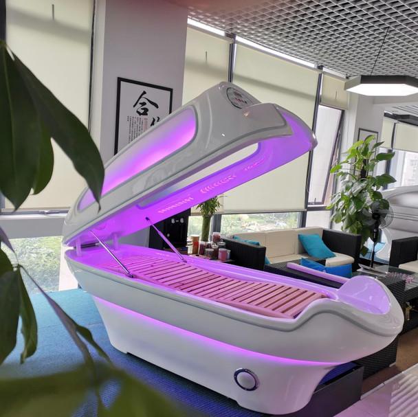 Summer Body Infrared Led Light Sauna Pod with Window