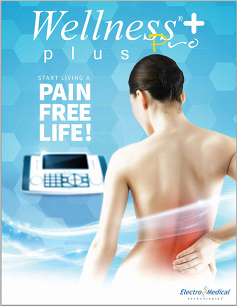 Wellness Pro Plus Tens Unit/Frequency Generator for Pain Relief