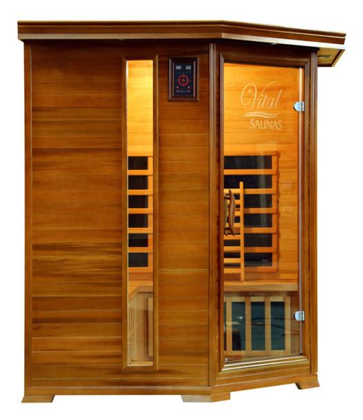 Vital Sauna Elite 3-4 Person Corner 120V