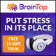 Brain Tap Guided Meditation Headset Corded