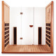 Clearlight Sanctuary Yoga Sauna Cedar