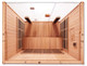 Clearlight Retreat ADA Sauna Basswood