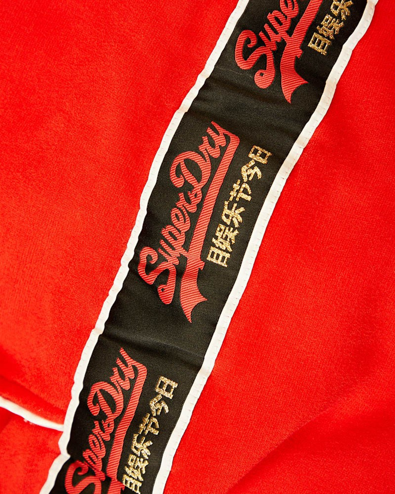 Superdry Womens CNY JOGGER Red Cuffed Joggers 6