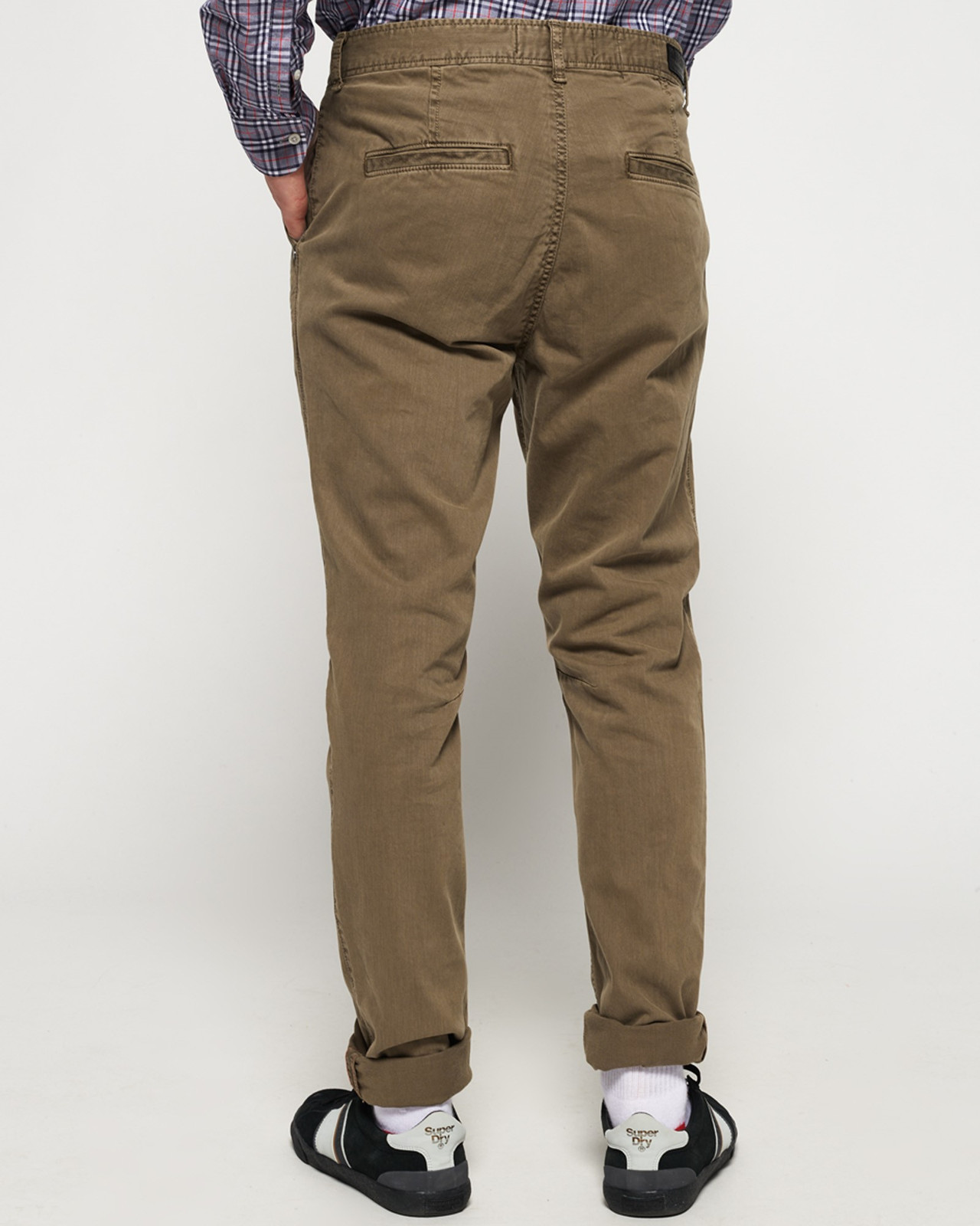 Superdry Mens Surplus Goods Chino Trousers Brown Chino Pants 2